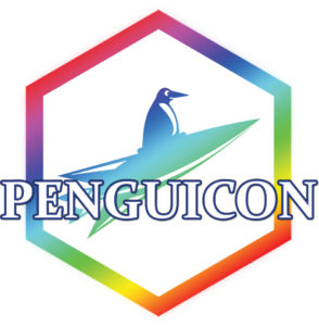 Penguicon rainbow logo