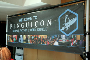 Welcome to Penguicon banner